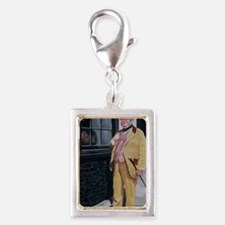 DICKENS CHARACTER Silver Portrait Charm