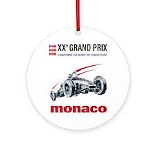 monaco2 Round Ornament