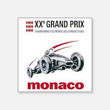 """monaco2 Square Sticker 3"""" x 3"""""""
