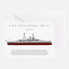 USSoklahoma_Print Greeting Card