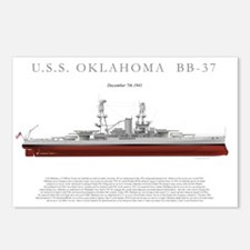 USSoklahoma_Print Postcards (Package of 8)