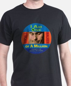 One of a Million button T-Shirt