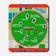 HU Campus Map Print.gif Mousepad