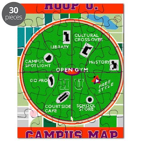 HU Campus Map Print.gif Puzzle