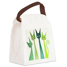 green dixie Canvas Lunch Bag