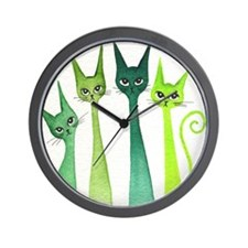 green dixie Wall Clock