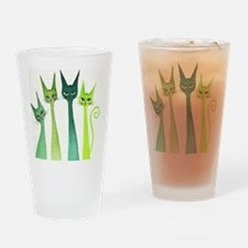 green dixie Drinking Glass