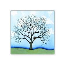 "tree cairo Square Sticker 3"" x 3"""