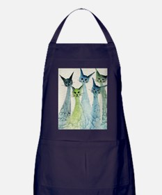 blue green lakeland Apron (dark)