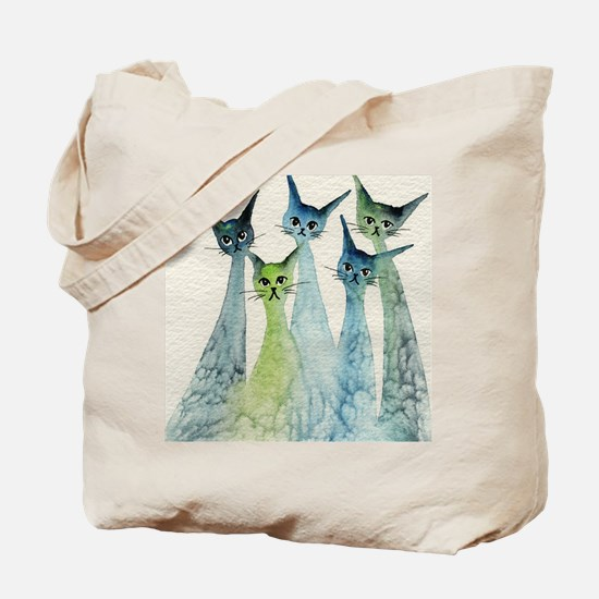 blue green lakeland Tote Bag