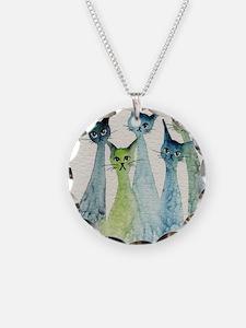 blue green lakeland Necklace