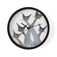 arlington heights signed Wall Clock