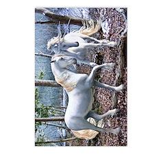 UnicornReuionKINDLEslv  Postcards (Package of 8)