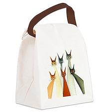 seville bigger Canvas Lunch Bag
