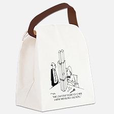 3694_OSHA_cartoon Canvas Lunch Bag