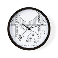 3697_welding_cartoon_FH Wall Clock