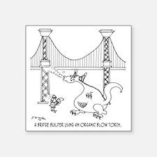 "3697_welding_cartoon_FH Square Sticker 3"" x 3"""