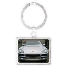 2006 Porsche Cayenne Landscape Keychain