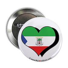 """I Love Equatorial Guinea 2.25"""" Button (100 pack)"""