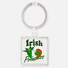Irish Princess 995836352 Square Keychain