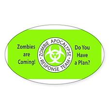 ZombiesComingGreen Decal