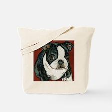 boston pup squared Tote Bag