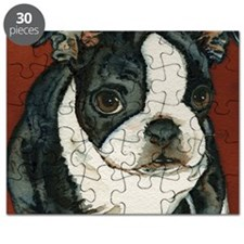 boston pup squared Puzzle