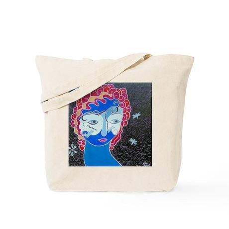 Dragonfly Mask Tote Bag