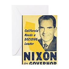 ART Nixon for Governor Greeting Card