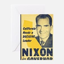 ART Nixon for Governor Greeting Card