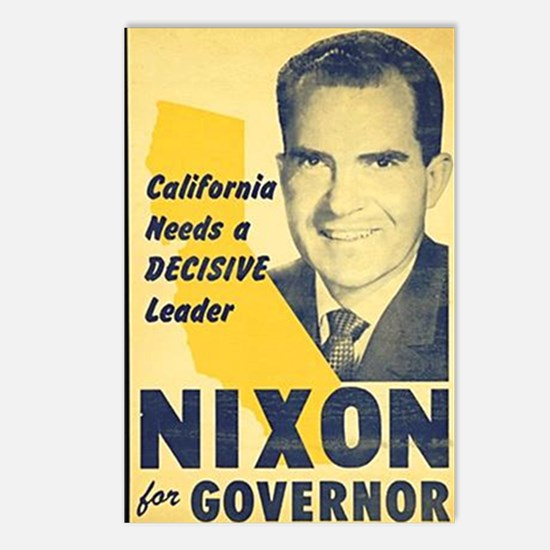 ART Nixon for Governor Postcards (Package of 8)