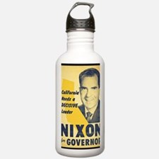 ART Nixon for Governor Water Bottle