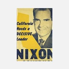ART Nixon for Governor Rectangle Magnet