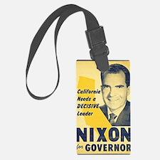 ART Nixon for Governor Luggage Tag
