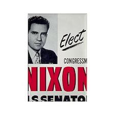 ART Nixon for Senate Rectangle Magnet