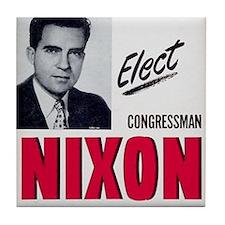ART Nixon for Senate Tile Coaster