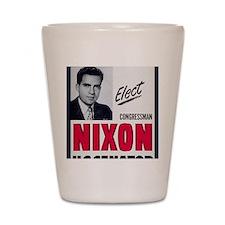 ART Nixon for Senate Shot Glass