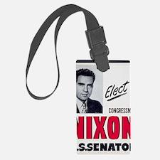 ART Nixon for Senate Luggage Tag