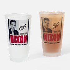 ART Nixon for Senate Drinking Glass