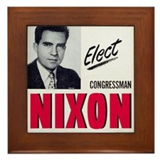 ART Nixon for Senate Framed Tile