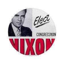 """ART Nixon for Senate 3.5"""" Button"""