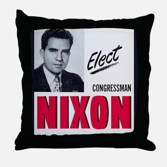 ART Nixon for Senate Throw Pillow