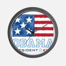 ObamaStars2012 Wall Clock