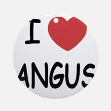 ANGUS Round Ornament