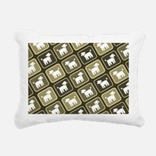 poodlelaptopskin Rectangular Canvas Pillow