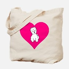 Loveisallaroundnowords.gif Tote Bag