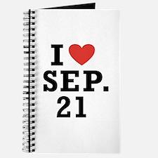 I Heart September 21 Journal