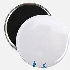 White Logo Magnet