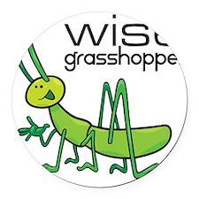 grasshopper Round Car Magnet