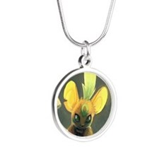 Transformice Halloween Silver Round Necklace